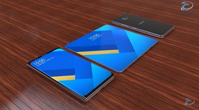 Samsung Galaxy X: концепция складного смартфона с гибким экраном (видео)