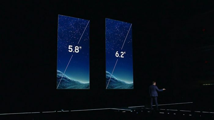 galaxy s8 display