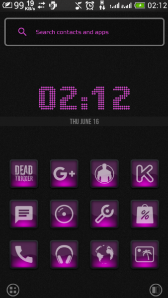 sl theme dark iconpack