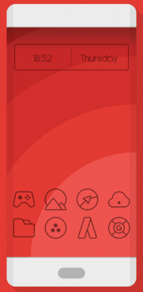 two pixel dark iconpack