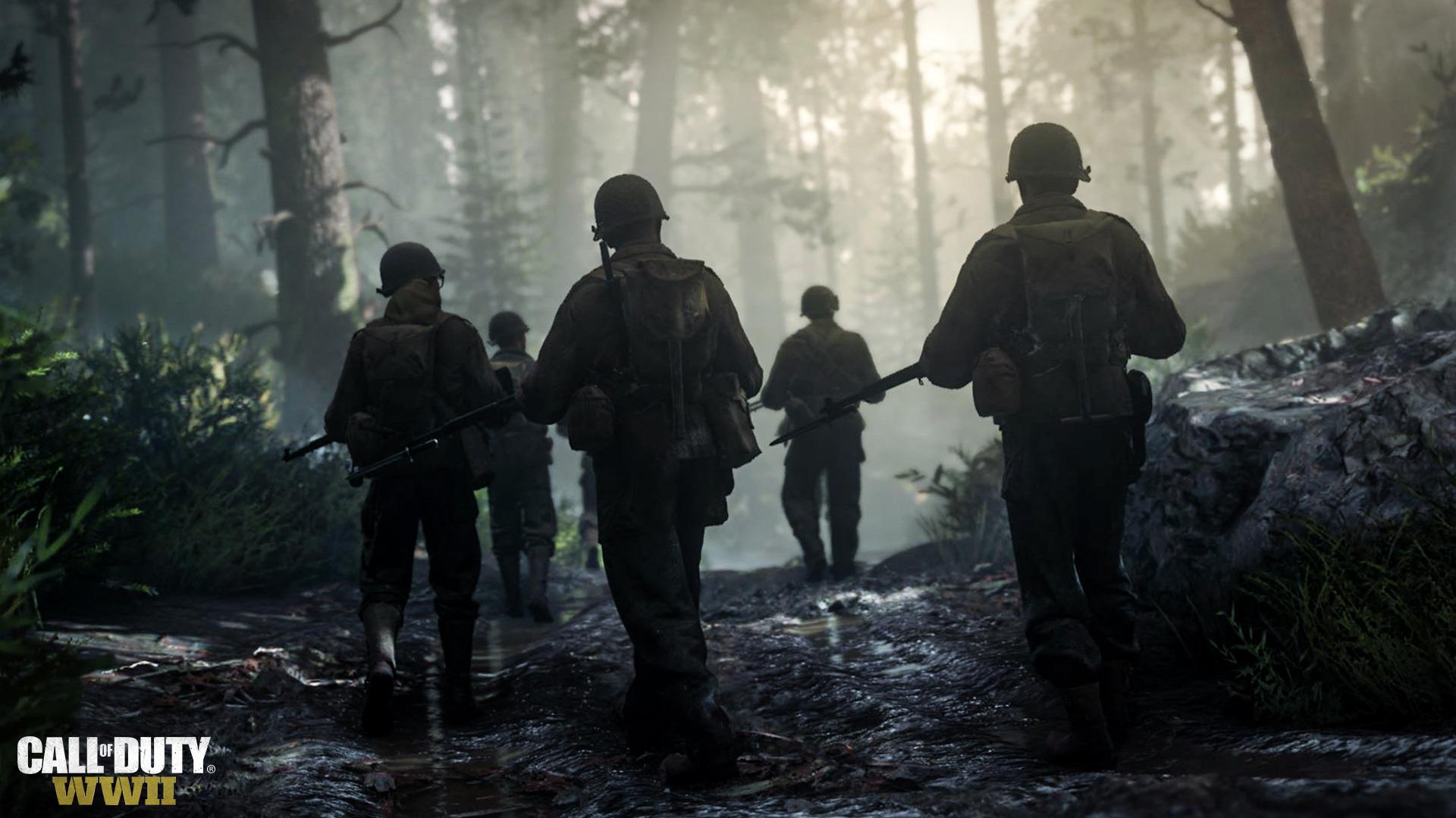 Вышел первый трейлер Call of Duty: WWII