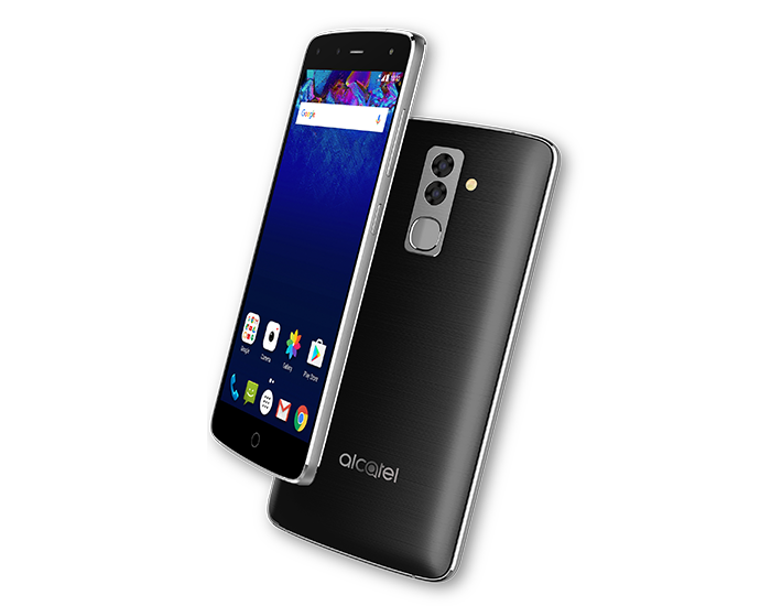 Все для успешного селфи: Alcatel представила смартфон с4 камерами