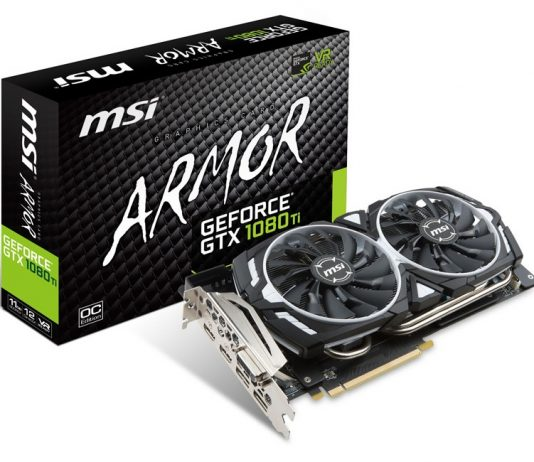 MSI GeForce GTX 1080 Ti Armor