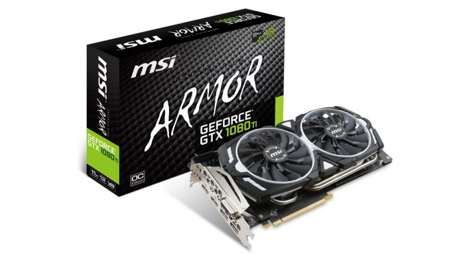 MSI GeForce GTX 1080 Ti Armor
