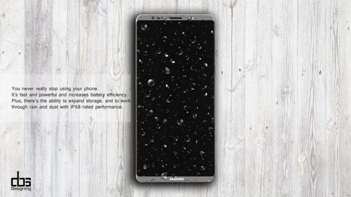Samsung Galaxy Note 8: концепция смартфона с двойной камерой (видео)