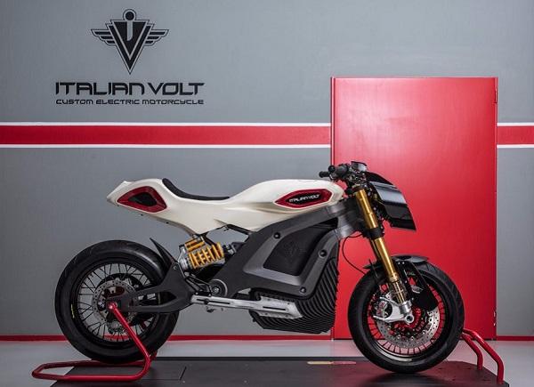 В Італії почалися продажі надрукованого на 3D-принтері електробайка Italian Volt