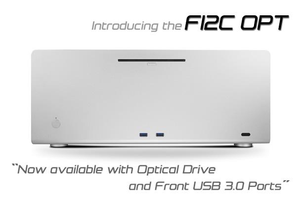 Streacom представила обновление своего корпуса для HTPC – F12C Optical