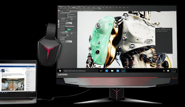 Компанія Lenovo представила в Україні моноблок IdeaCentre AIO Y910