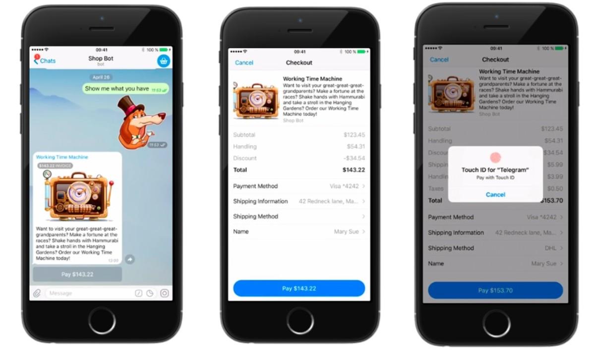 Telegram запустил платежи через ботов и платформу для круглых видео Telescope