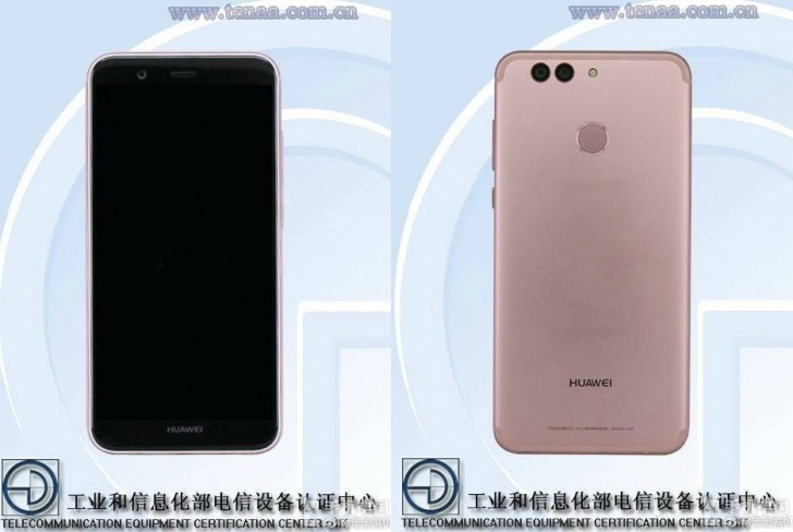 Huawei Nova 2 с двойной камерой был сертифицирован TENAA