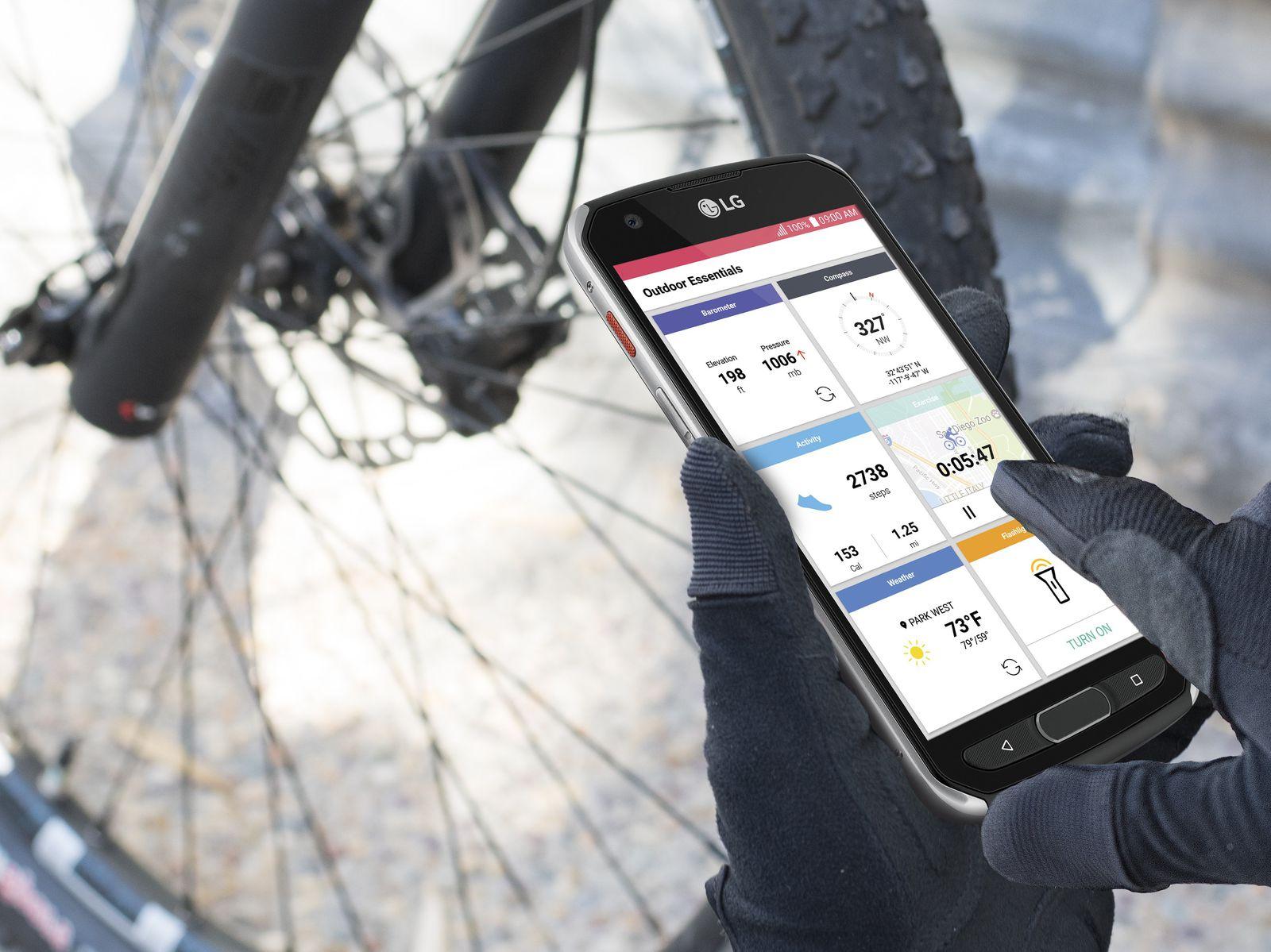 LG выпустила смартфон X venture для любителей активного образа жизни