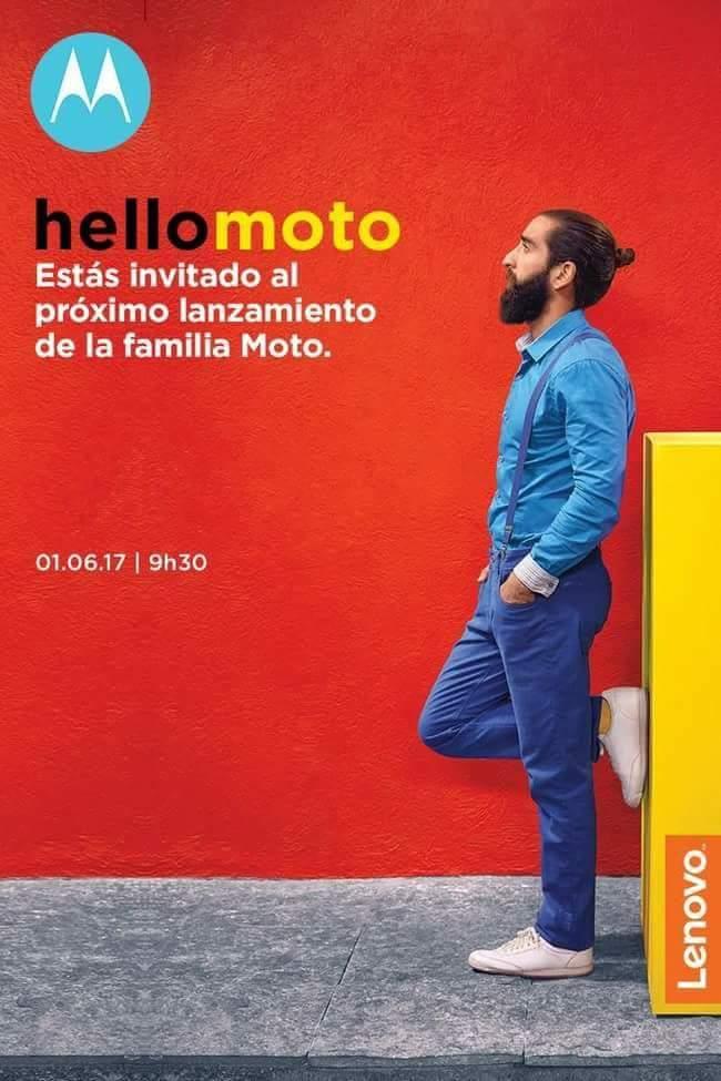 У Мережі з'явилися фотографії розпакування Moto Z2 Play, нові прес-рендери і постер з датою анонсу
