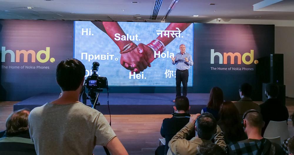 Отчет о киевской презентации: Nokia 3310 и смартфоны на Android