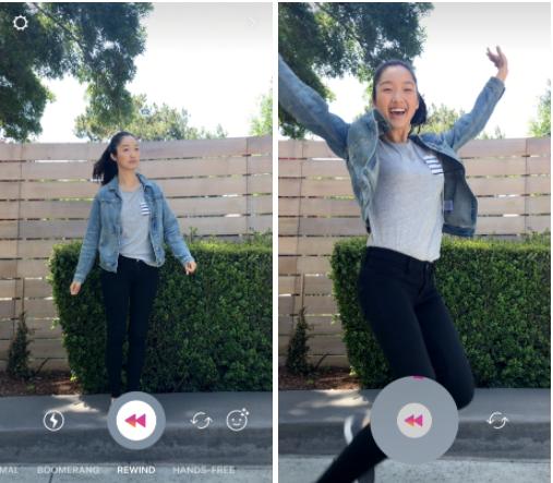 Instagram добавил «маски» для Stories и функцию воспроизведения видео в обратном порядке