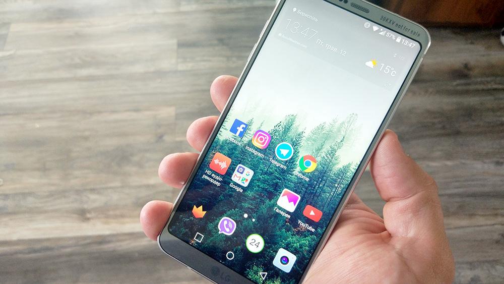 Обзор LG G6: флагман с дисплеем Full Vision