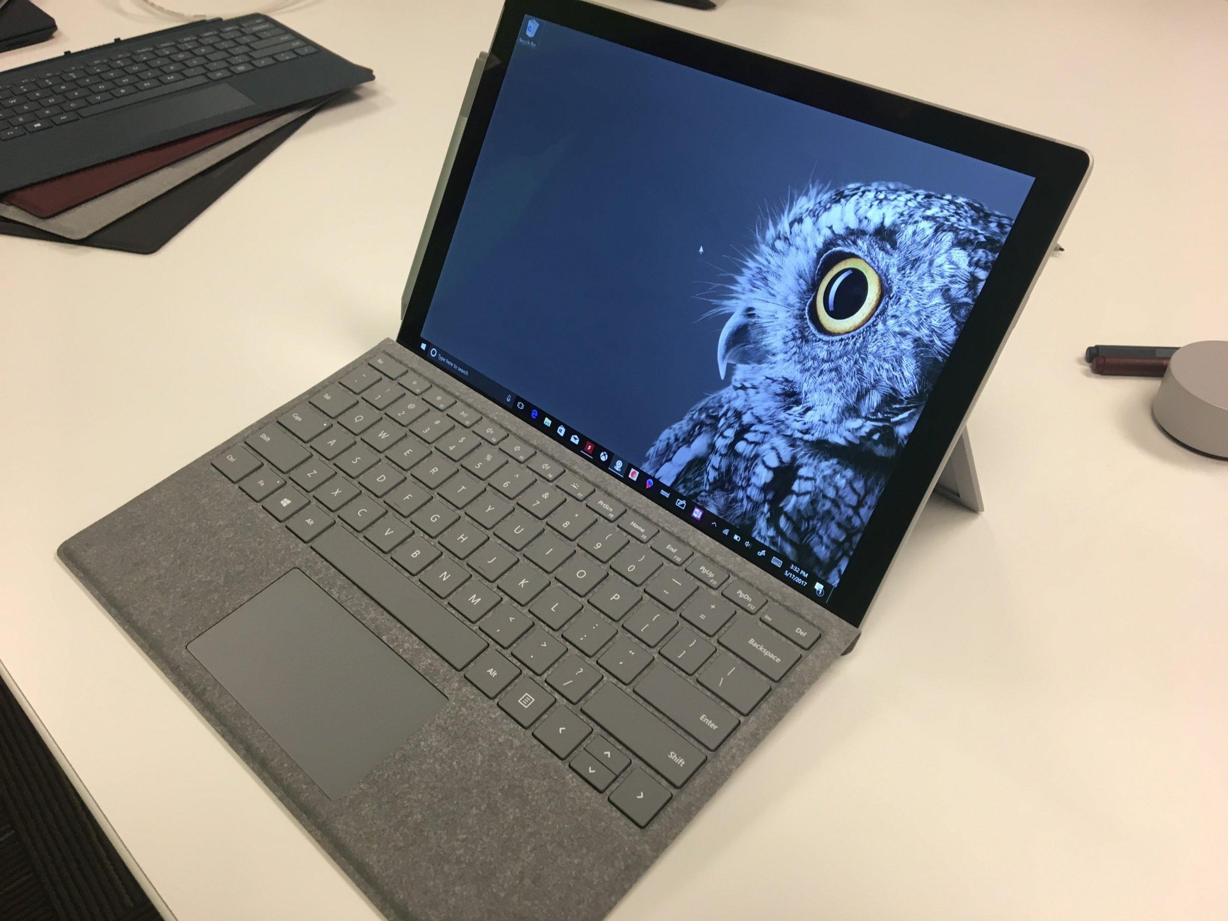 Microsoft офіційно представила новий планшет Surface Pro за $ 800