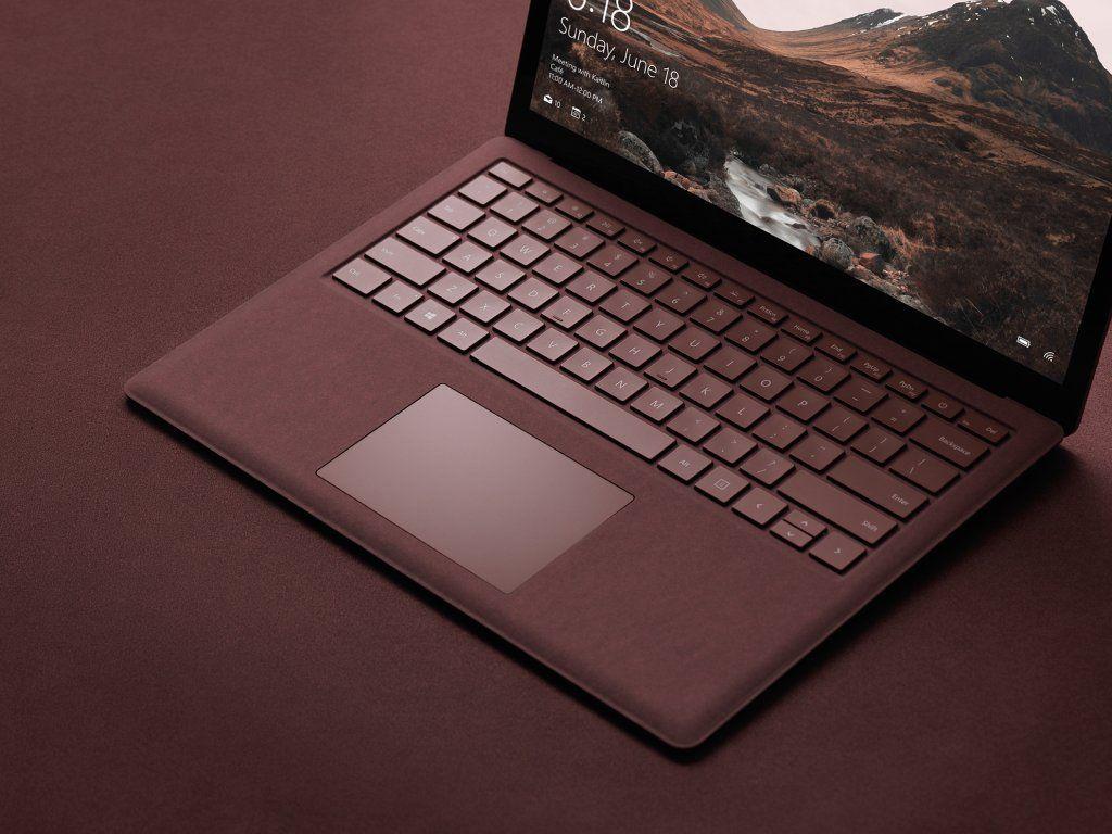 Изображения нового ноутбука Microsoft Surface Laptop попали в Сеть до презентации