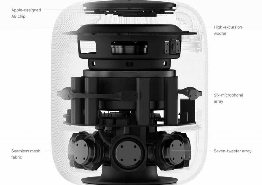 HomePod от Apple не переносит дерево