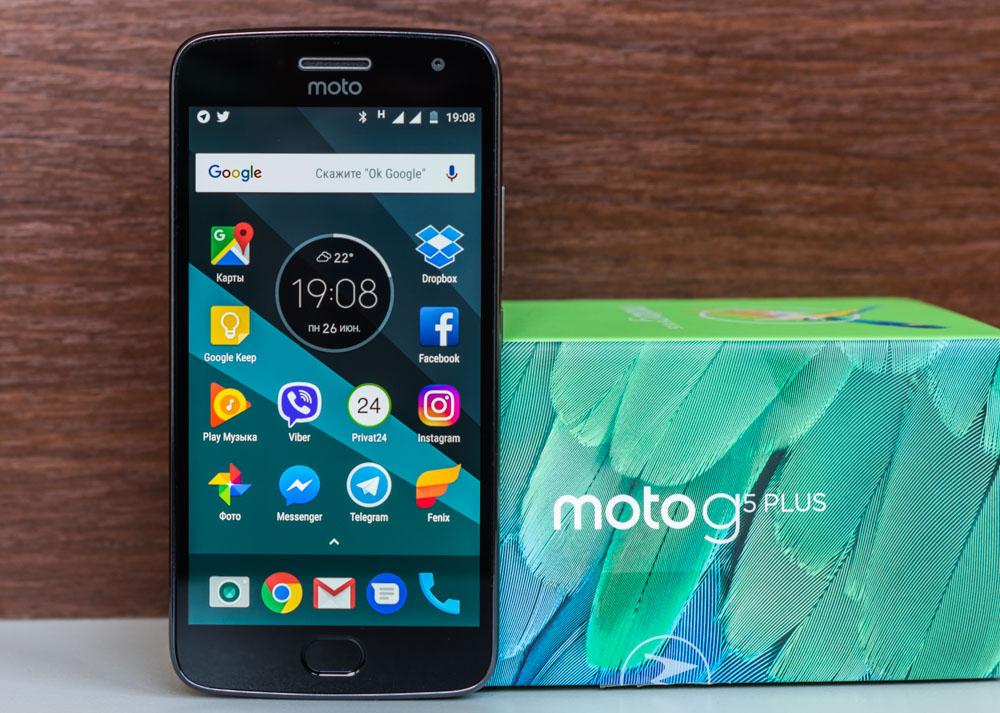 Обзор Motorola Moto G5 Plus