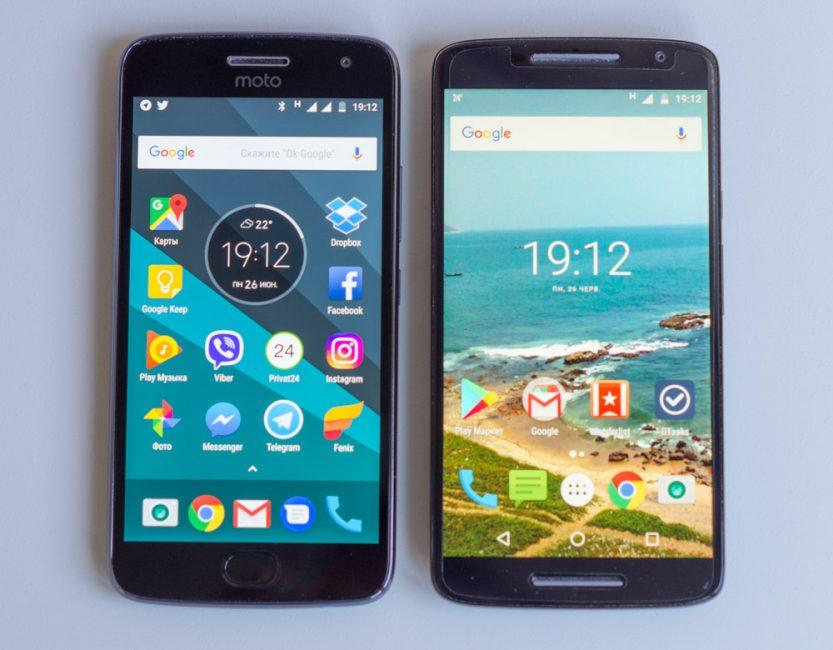 Moto G5 Plus vs Moto X Play