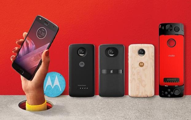 Motorola представила друге покоління Moto Z Play і нові Moto Mods