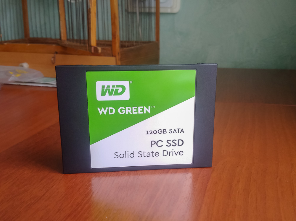 WD SSD Green
