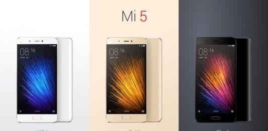 Xiaomi Mi5 1