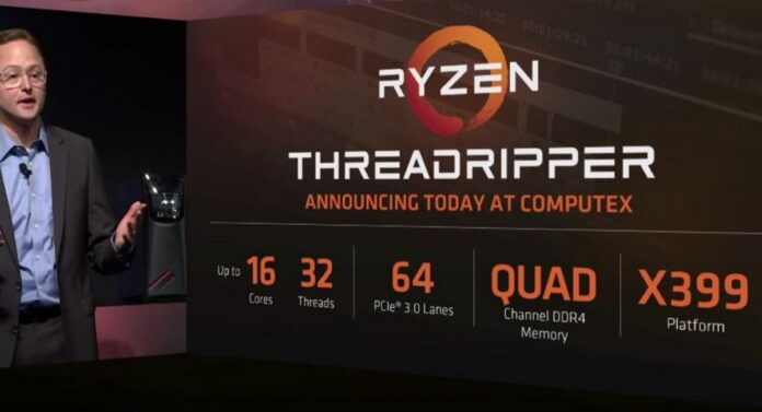 amd ryzen threadripper 1