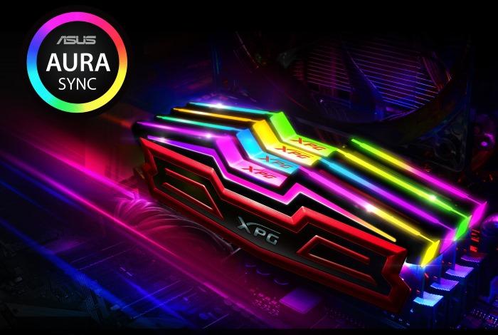 ADATA DDR4 XPG SPECTRIX D40 RGB 4