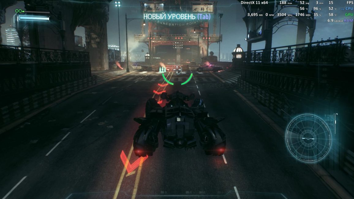 Batman Arkham Knight evga gtx 1050 ti 4gb 4