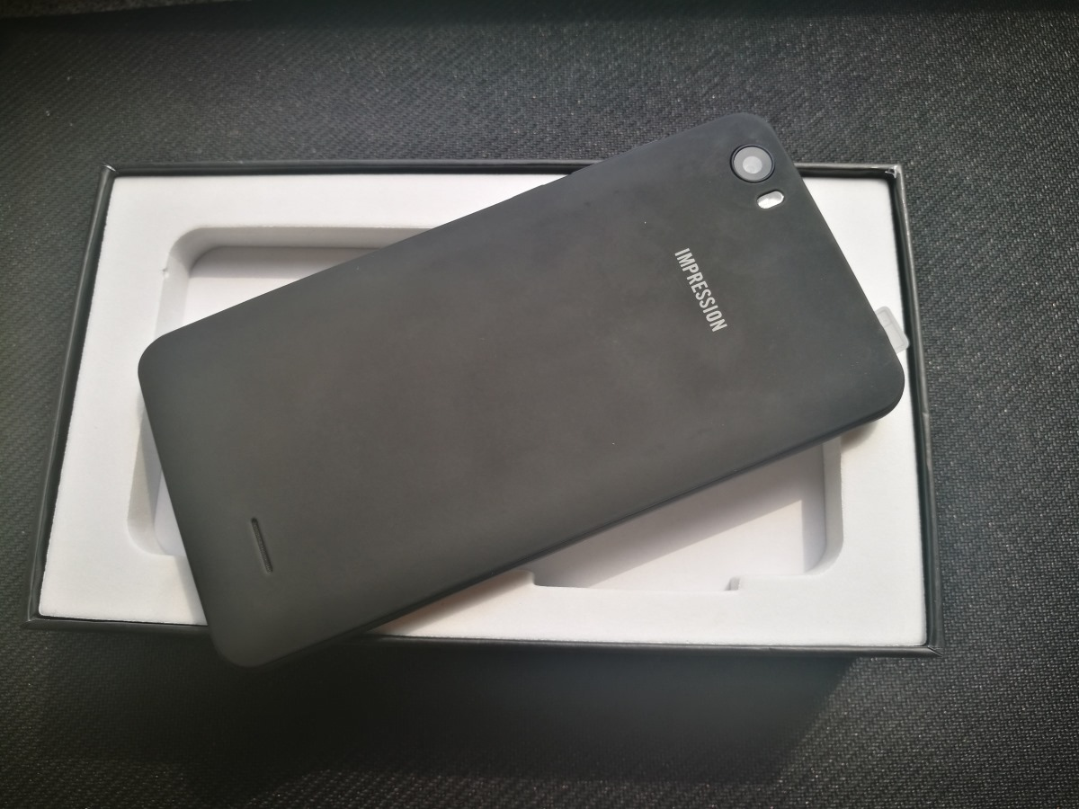 Обзор бюджетного смартфона Impression imSmart A504