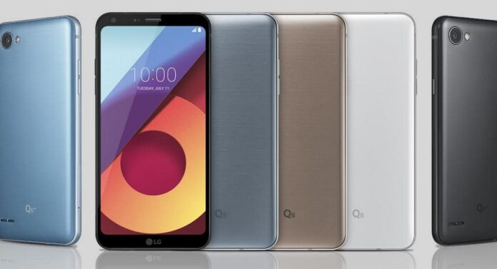 LG Q6 announce 2