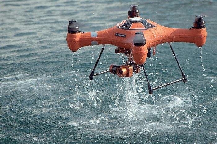 Splash Drone 3 Auto: водонепроницаемый квадрокоптер с 4K камерой