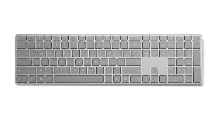 Microsoft випустила стильну клавіатуру з прихованим сканером відбитків пальців
