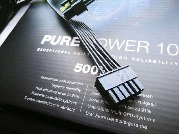 be quiet pure power 10 500W CM