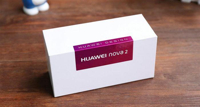 Коробка Huawei Nova 2