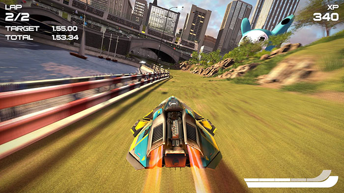Мнение о Wipeout: Omega Collection