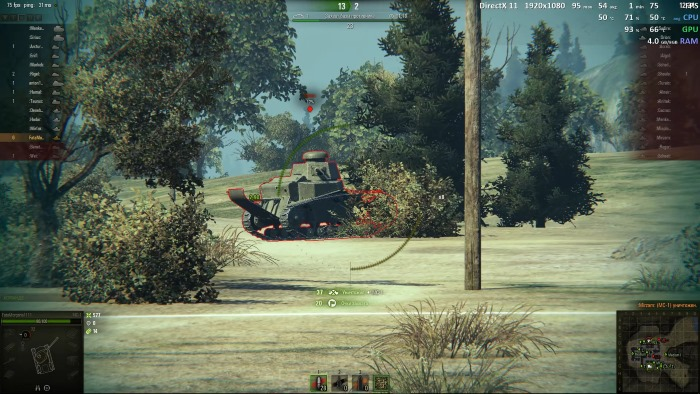 world of tanks evga gtx 1050 ti 4gb 5