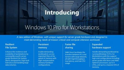 Windows 10 Pro for Workstations