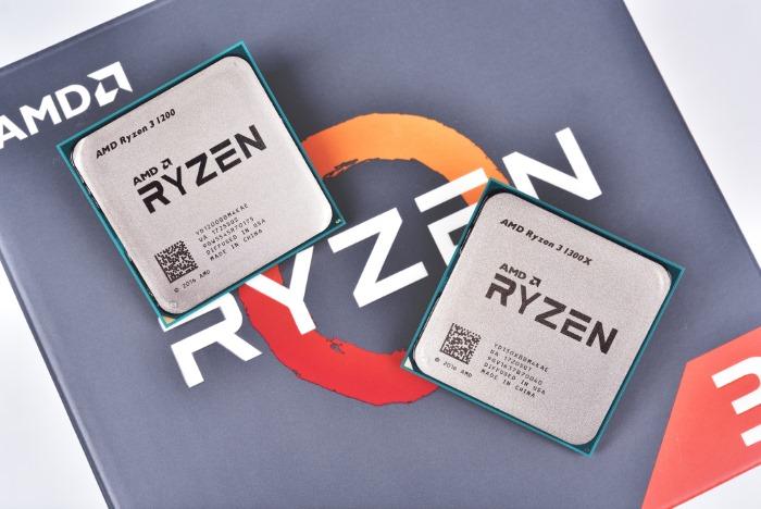 AMD Ryzen 3 1200 1300X