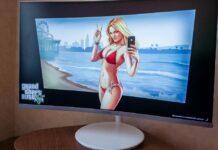 Обзор изогнутого монитора Samsung CH711