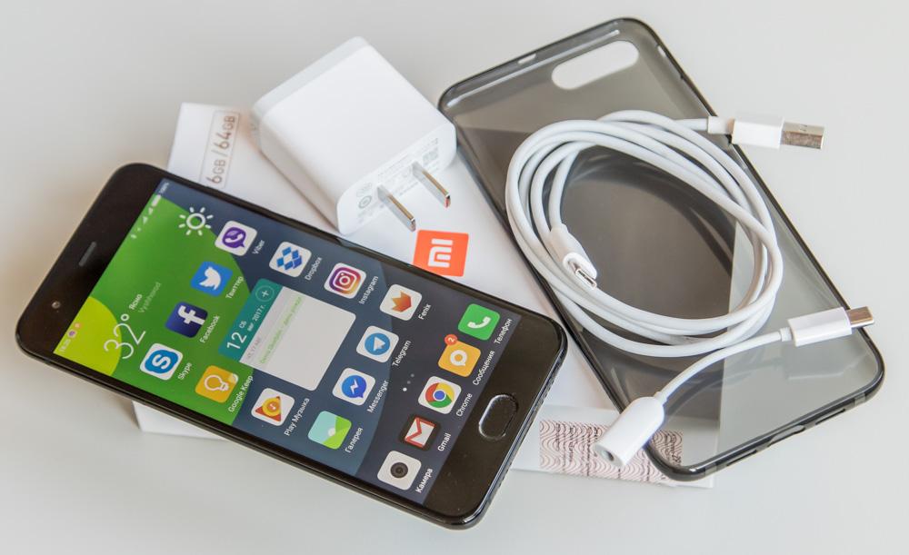 Комплект поставки Xiaomi Mi 6
