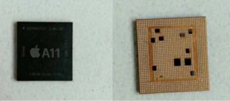 В сети появились первые фотографии процессора iPhone 8