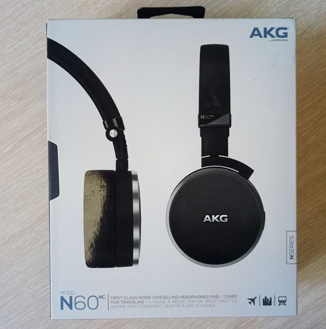 Обзор наушников AKG N60NC