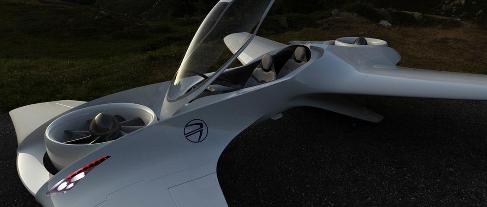 """Летающий Delorean из """"Назад в будущее"""" станет реальностью"""