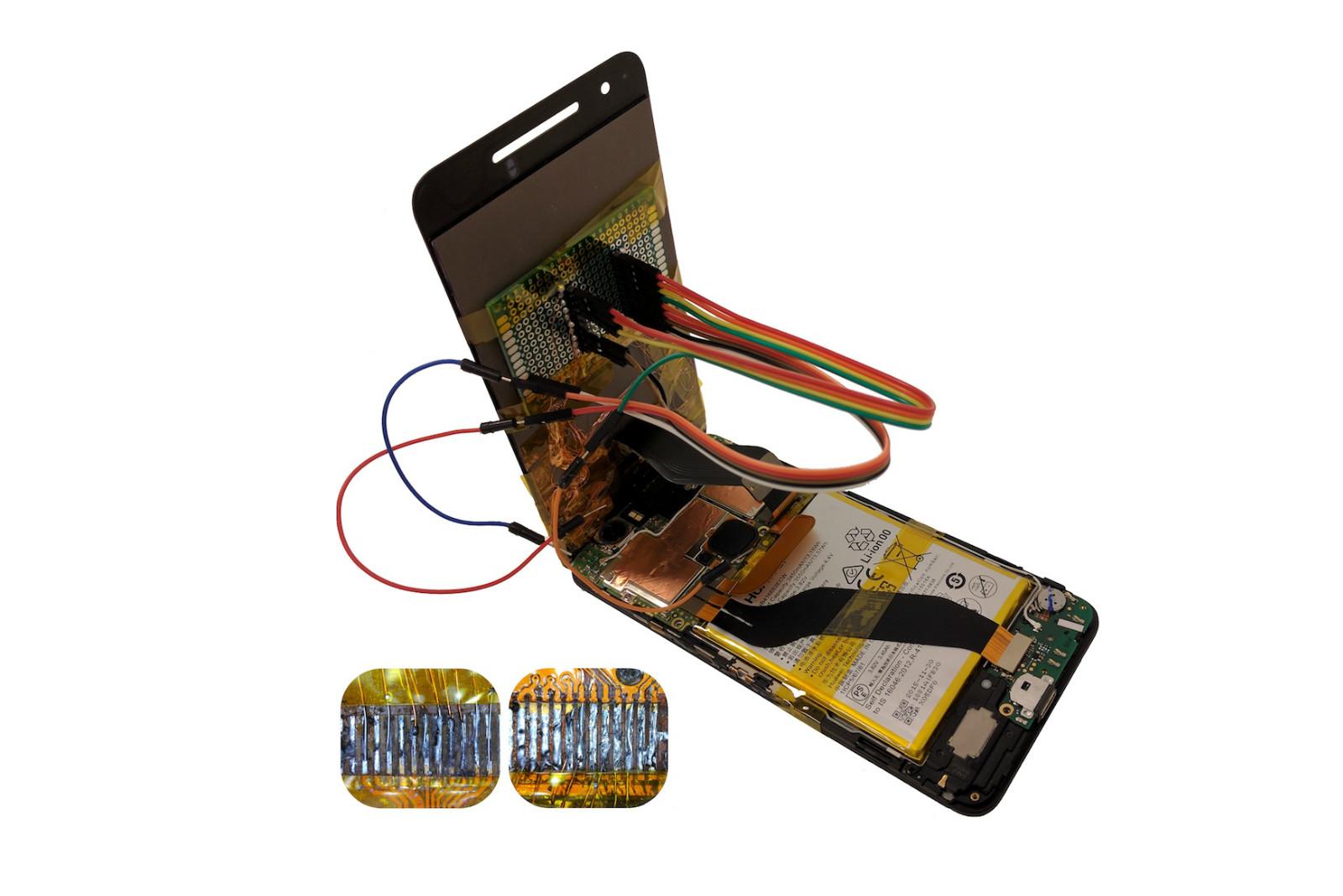 Смартфон стало можно взломать при помощи замены экрана