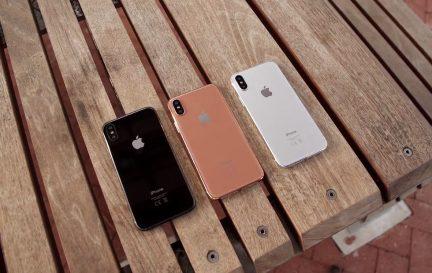 iPhone 8 может получить бронзовый цвет корпуса
