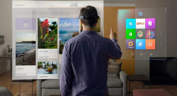 Microsoft разрабатывает устройство дополненной реальности