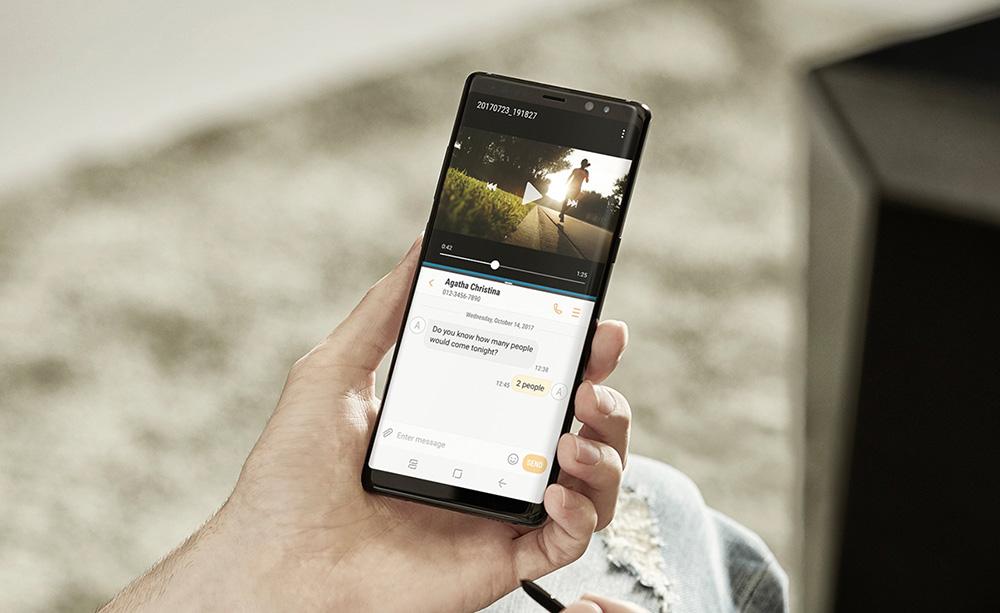 Samsung Galaxy Note 8 представлен официально