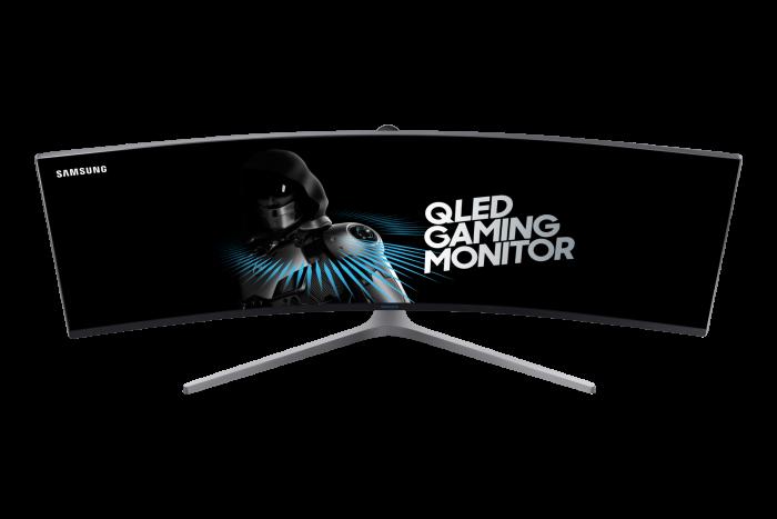 Samsung представила крупнейший игровой QLED монитор